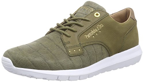 Men Baskets Basses Olive Vert Pantofola Low Grün Homme d'Oro Military Sicily qfWxnpnFt
