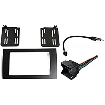 radio stereo install double or single din dash. Black Bedroom Furniture Sets. Home Design Ideas