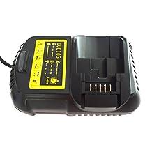 JANRI Relacement Power Tool Battery Fast Charger DCB101 DCB201 DCB201-2 DCB105 for Dewalt 12V~20V MAX Li-ion batteries DC120 DCB140 DCB180 DCB200