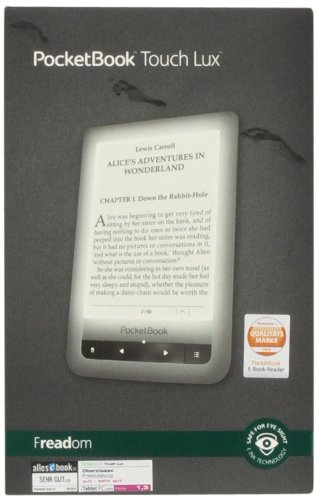 Pocketbook Touch Lux silber: E-Book Reader: Amazon.es: Libros en ...