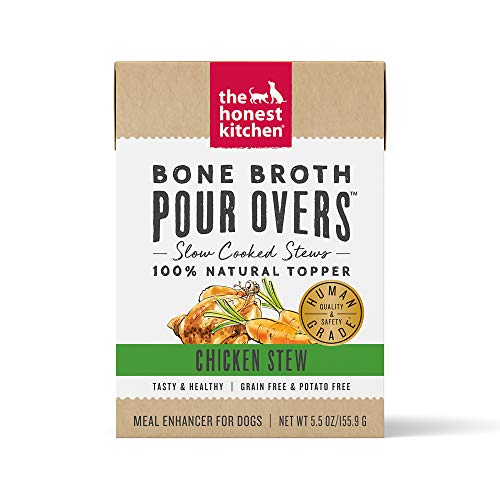 The Honest Kitchen Bone Broth POUR OVERS, 5.5oz, Case of 12