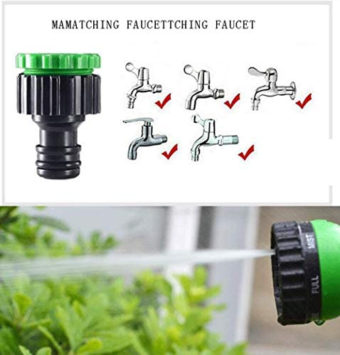 Expandable Garden Hose Pipe, 25-150FT Magic Water Hose Pipe Garden Hose Expandable with 7 Futions Spray To Watering With Spray Gun Expandable Flexible Garden Hose Pipe