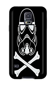 Galaxy Case - Tpu Case Protective For Galaxy S5- Stormtroopers Star Wars Vector