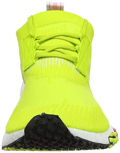 White Solar Pk Gimnasia Mujer Zapatillas White racer Blanco semi ftwr Yellow De ftwr Para Adidas Nmd W wOgxqZA