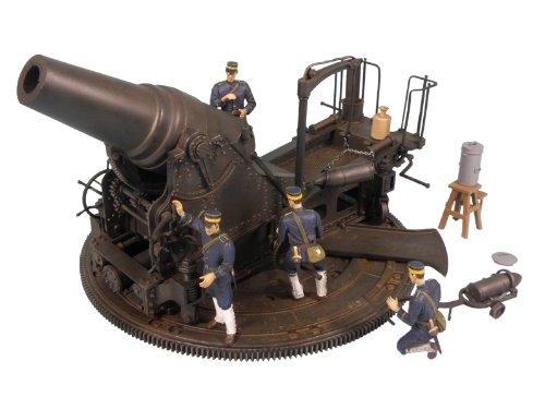 模型 1/35 日本陸軍 28cm榴弾砲 塗装済完成品  G18M