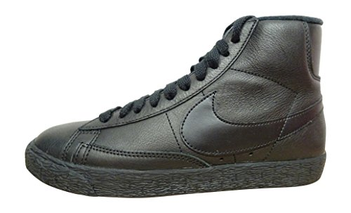 nike Womens Blazer Mid SE Hi Top Trainers 885315 Sneakers Shoes (US 10, black anthracite 001)