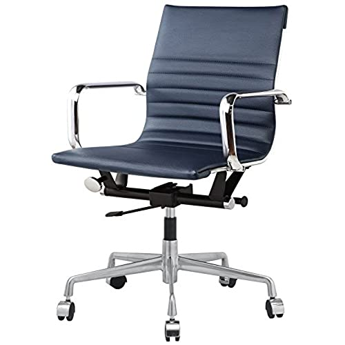 blue leather chairs amazon com