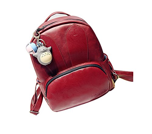 A&N - Bolso mochila  para mujer Medium Red