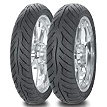 Avon Tyres 2270011 Roadrider AM26 Rear Tire - 160/80V-15, Tire Type: Street, Tire Construction: Bias, Tire Application: Sport, Load Rating: 74, Speed Rating: V, Position: Rear, Tire Size: 160/80-15, R