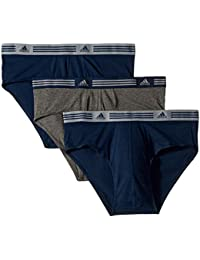 Men's Athletic Stretch Brief (3-Pack)