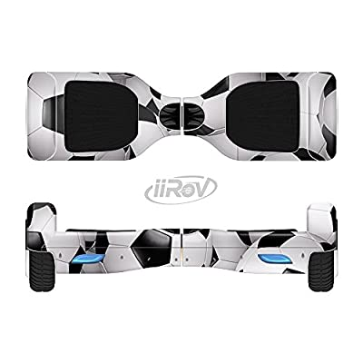 Design Skinz The Soccer Ball Overlay Full-Body Wrap Skin Kit for The iiRov HoverBoards and Other Scooter (Hoverboard NOT Included) : Sports & Outdoors