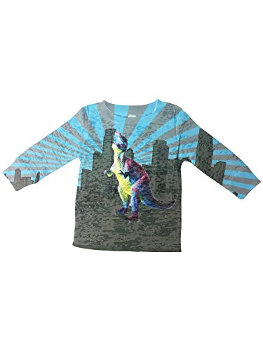 Stella Blu Clothing Little Boys Dinosaur Thermal Long Sleeve  3 6M  Multi