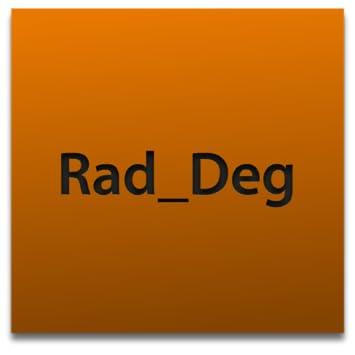 Amazon com: simple! radian degree conversion app: Appstore