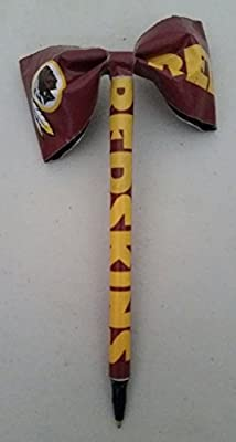 Washington Redskins NFL Duct Tape Bow Pen