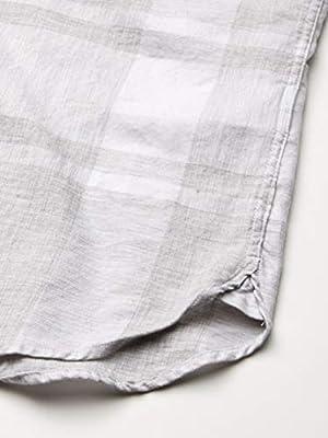 Calvin Klein Men's Short Sleeve Button Down Check Shirt