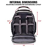 USA Gear Drone Backpack - Drone Case Compatible