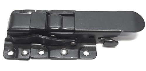 Metal fabrication latches for tailgates, access panels, tool mounts UTV /RZR (Black)
