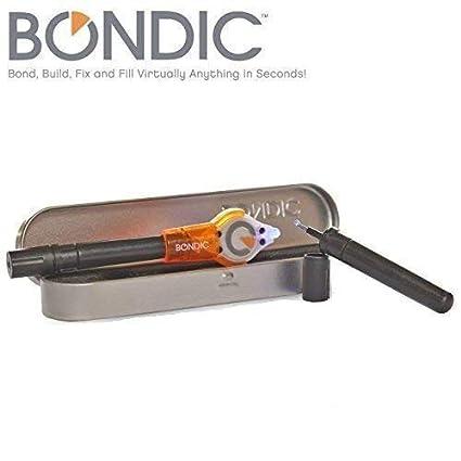Bondic la primera del mundo líquido plástico soldador. Bond, Build, Fix y rellenar