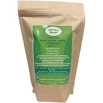 Amazon.com: Organic Rice Bran Fiber 8oz (227g): Health