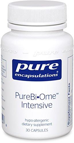 Microflora Balance - Pure Encapsulations - PureBiOme Intensive - Hypoallergenic Multi-Strain Probiotic Blend to Support Healthy Intestinal Microflora Balance* - 30 Capsules