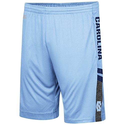 UNC Tarheels Carolina Blue Polyester Perfect Season Training Shorts (X-Large)
