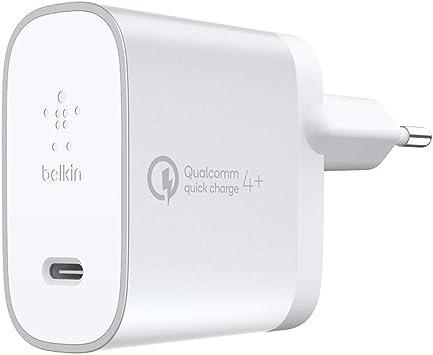 Belkin Boost Charge cargador doméstico de 27 W con Quick Charge 4+ ...