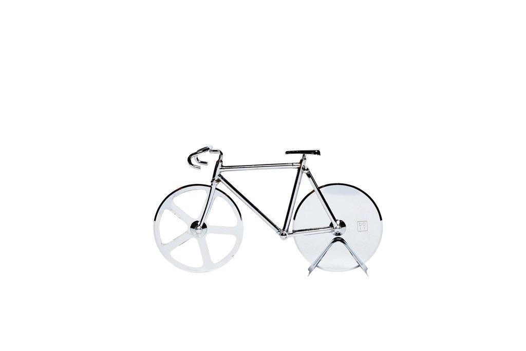 Doiy Fixie Bicycle Pizza Cutter Bike (Silver) by DOIY