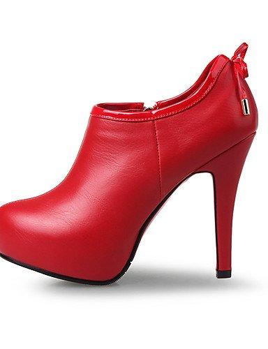 y 5 mujer eu39 5 Cerrada Zapatos Tac¨®n Fiesta Tacones ZQ uk6 cn40 Stiletto Botines us8 Puntiagudos Punta de red Boda 5 Tacones red Vestido eu39 5 cn35 Plataforma uk6 us8 uk3 eu36 5 red Noche us5 5 EZCRnwqn