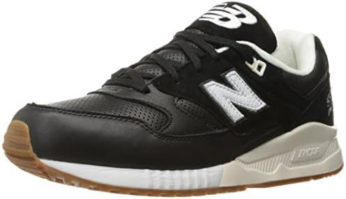 sports shoes 4625c c36c2 New Balance Men's 530 Classic Lifestyle Sneaker, Black/Sea ...