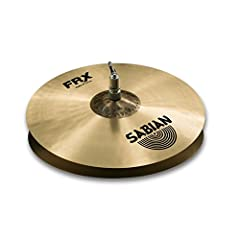"""14"""" FRX Hats are a pro-level B20 Bronze pairing that delivers exceptional versatility, clean sticking and crisp response. SABIAN FRX (Frequency Reduced) cymbals are designed for playing environments where other cymbals have too much attack. T..."""