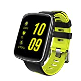 Smart Watch Sport Fitness Tracker – Luxsure IP67 Waterproof Step Counter Activity Tracker Heart Rate & Sleep Monitor Touch Screen Wristband for iOS/Android Smartphones (Fashion Green) For Sale