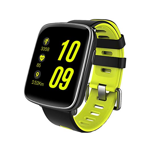 Smart Watch Sport Fitness Tracker - Luxsure IP67 Waterproof Step Counter Activity Tracker Heart Rate & Sleep Monitor Touch Screen Wristband for iOS/Android Smartphones (Fashion Green)