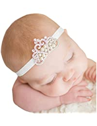 Gillberry Crown hair band Princess Baby Girl Crystal...