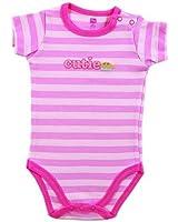 Hudson Baby Premium Shoulder Snap Bodysuit - Sayings Art, Cutie Pie - 0-3 months