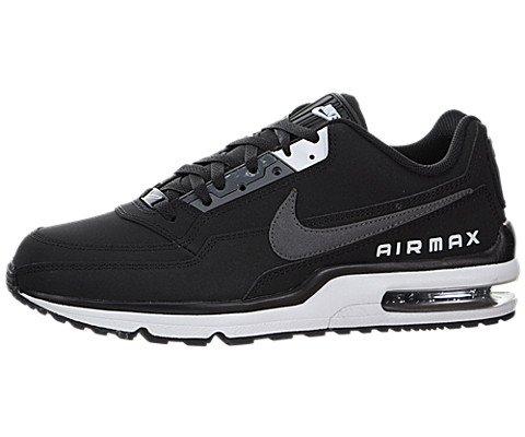 Nike Men's Air Max LTD 3 Black/Dark Grey/White Running Shoe 8 Men US (Black Grey Air)