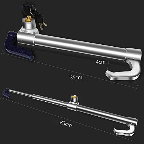 MIAO Car Steering Wheel Lock - Car Security Brake Lock,Anti-Theft Throttle Clutch Lock with Key 3 by miaomiao (Image #1)