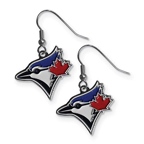 (Siskiyou MLB Toronto Blue Jays Dangle Earrings)