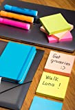 Sticky Notes 3x3, Bright Colorful Stickies, 12 Pads 1200 Sheets Total, Strong Self-Stick Notes, 6 Colors