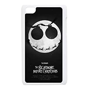 DDOUGS I The Nightmare Before Christmas Best Cell Phone Case for Ipod Touch 4, Custom I The Nightmare Before Christmas Case