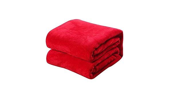 70CM Red TREESTAR Mantas de beb/é para ni/ños oto/ño e Invierno beb/é reci/én Nacido Copo de Nieve peque/ña Manta de Pelo Manta de Siesta Size 50