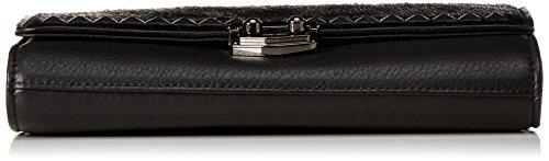 Steffen Schraut Rochester Mini I - Pochette da giorno Donna, Schwarz (Black), 4x16x22 cm (B x H T)