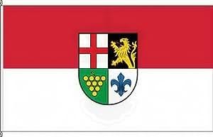 Bandera de la bandera de pies Cansados (Mosel)–80x 120cm