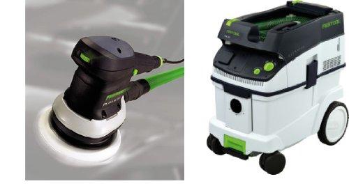 "Festool P365717 36 CT Dust Extractor & ETS 150/3 6"" Random Orbit Sander"