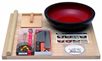 Hounen Kihan noodle making set with instructional DVD for Soba and Udon