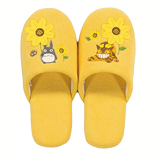 Senko Studio Ghibli My Neighbor Totoro Soft Slippers Women One Size 24cm from Japan 66798 Yellow