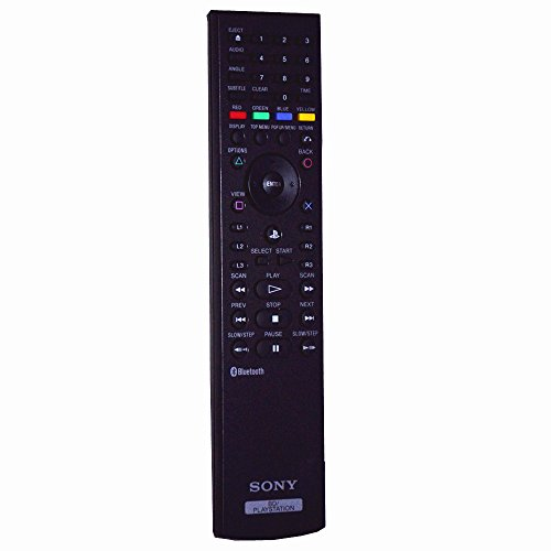 sony bd playstation remote control manual