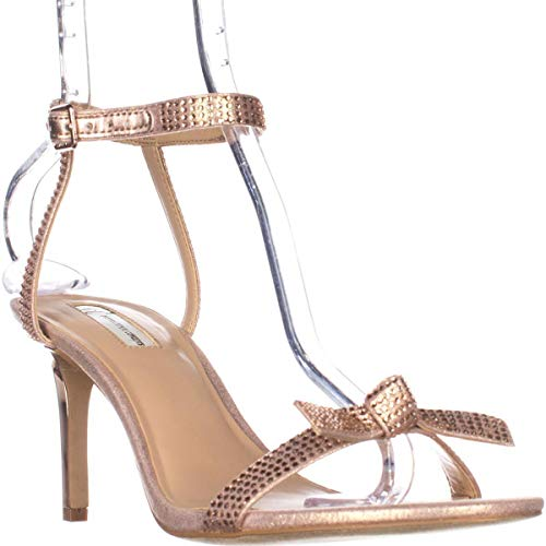 INC Riemen Leger Rose Offener Frauen Knoechel Sandalen International Laniah Zeh Concepts Light rcqrpU