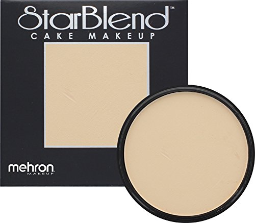 Mehron Makeup StarBlend Cake Makeup LIGHT OLIVE – 2oz