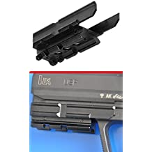 Ultimate Arms Gear Heckler & Koch HK USP Compact Pistol Handgun Mount Weaver Picatinny Rail Adapter for Scope, Sights, Lasers, Lights & Accessories