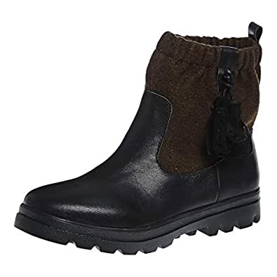 Baldi London Khaki Pull On Boot For Women